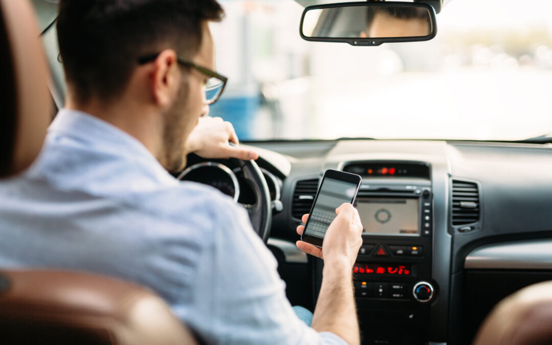 How have texting and driving laws affected personal injury cases?