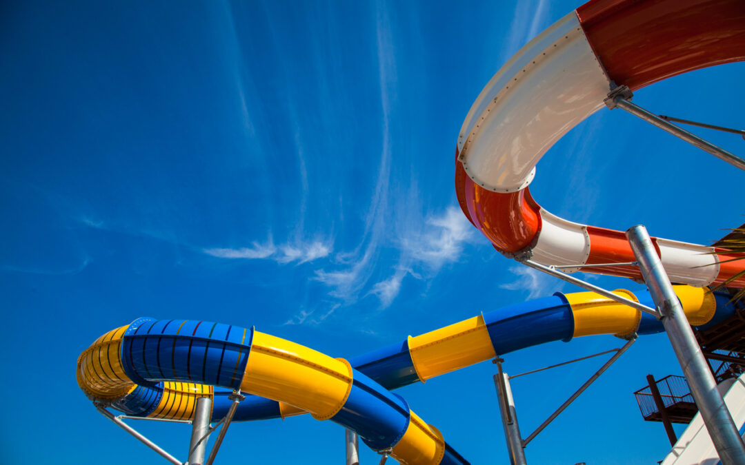 Which water park in Texas has been exposed to the most injury claims?